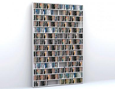 Bibliothèque Wall Disc, design Thomas Bleicher