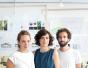 UNQUI designers, Arnaud Le Cat, Coralie Frick, Luther Quenum, Esther Bacot