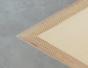 Table basse en multiplis de bouleau,table en triangle en CP de bouleau, table basse en triangle equilatéral