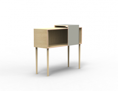 "Buffet ""Coulisse"", design Esther Bacot"