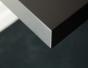 Table trapèze, table laquée, table design