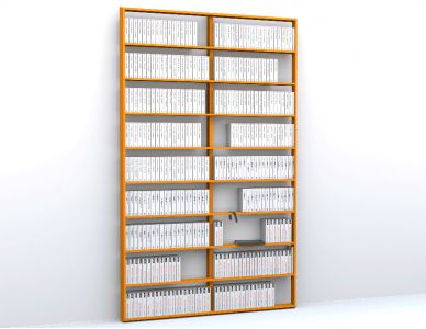 Wall Book Bookcase