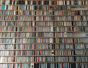 Wall Disc Bookcase