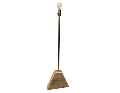 Concrete floor lamp Pi/2