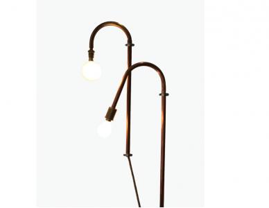 Lampe murale en cuivre CV3