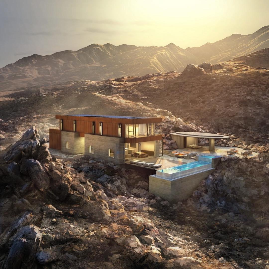 the Ridge Mountain Residence