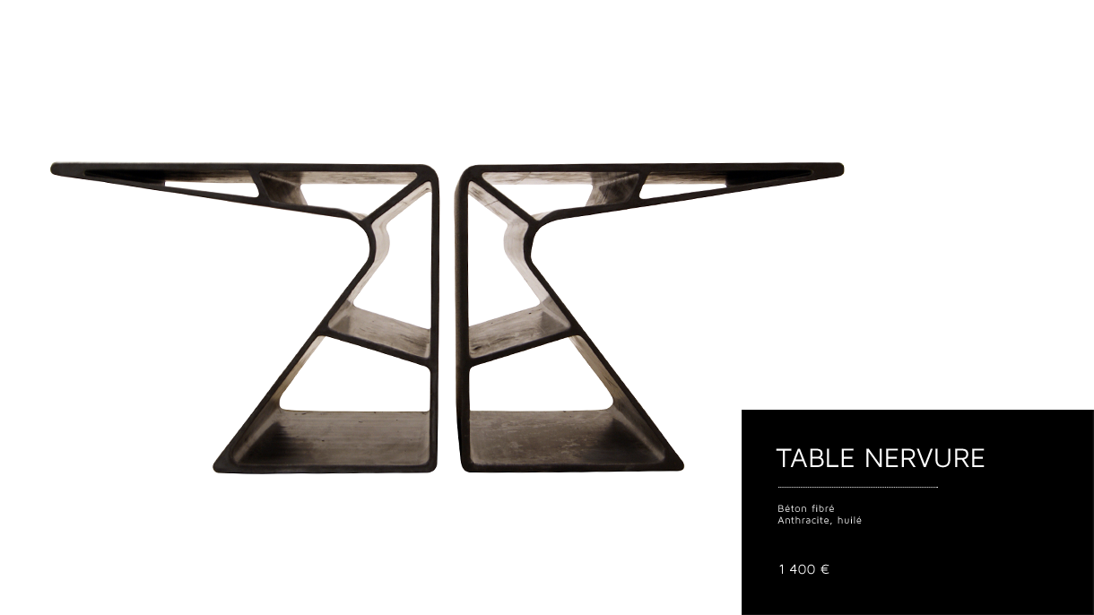 Table Nervure